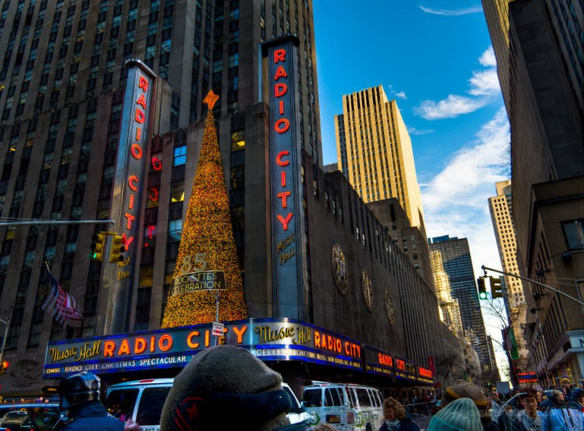 Radio City HDR